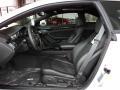2011 CTS -V Coupe Ebony Interior