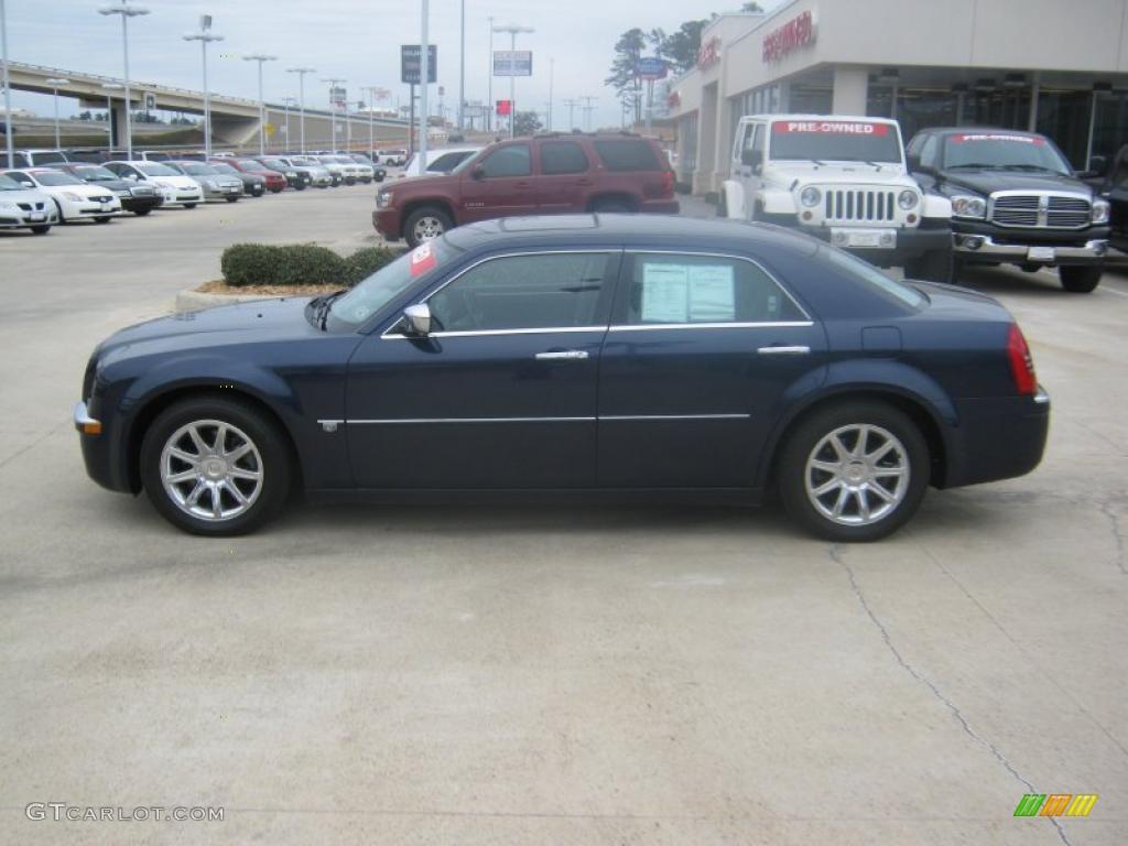 Midnight Blue Pearlcoat 2006 Chrysler 300 C Hemi Exterior