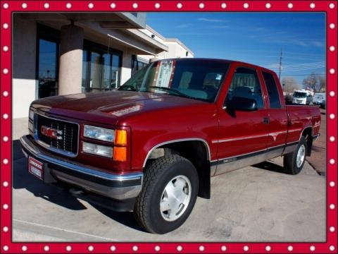 1996 gmc sierra 1500 sle extended cab 4x4 data info and specs. Black Bedroom Furniture Sets. Home Design Ideas