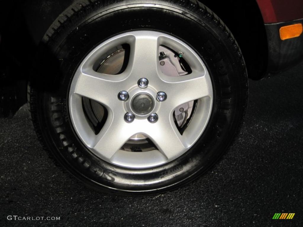 2004 Volkswagen Touareg V6 Wheel Photo 44781346