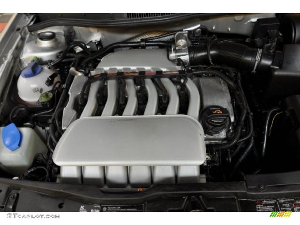 2003 Volkswagen Jetta Gli Sedan 2 8 Liter Vr6 Dohc 24 Valve V6 Engine Photo