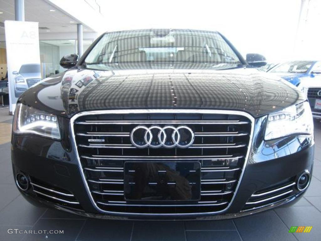 phantom black pearl effect 2011 audi a8 l 4 2 fsi quattro. Black Bedroom Furniture Sets. Home Design Ideas