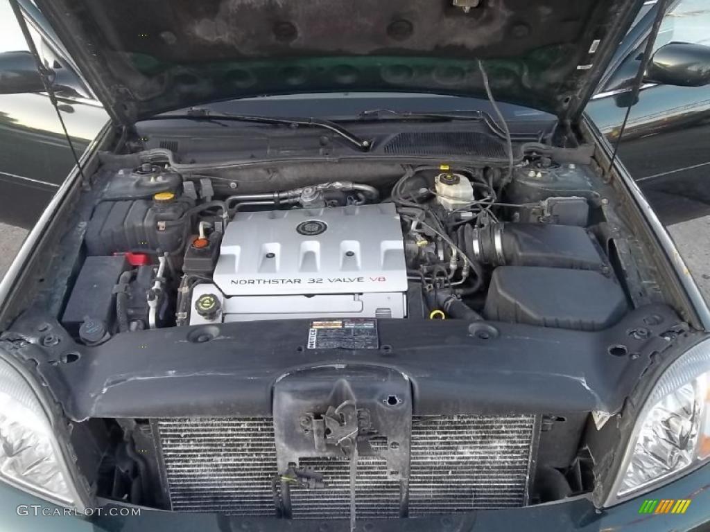 2000 Cadillac DeVille DTS 4.6 Liter DOHC 32-Valve Northstar V8 ...