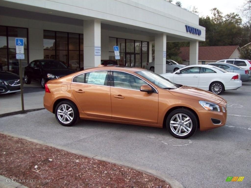 vibrant copper metallic 2012 volvo s60 t5 exterior photo 44808964. Black Bedroom Furniture Sets. Home Design Ideas