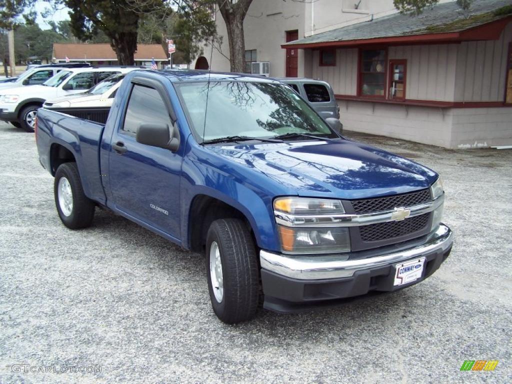 2004 Chevrolet Colorado Z71 News >> Superior Blue Metallic 2005 Chevrolet Colorado LS Regular Cab Exterior Photo #44809208 ...