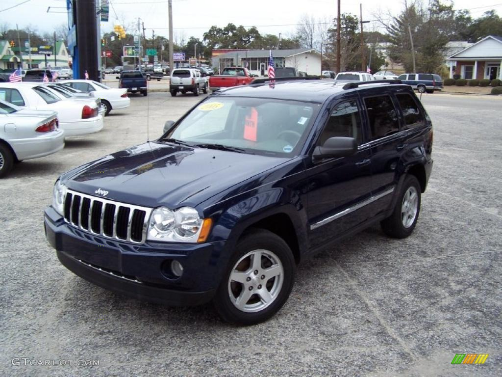 2005 midnight blue pearl jeep grand cherokee limited #44805626