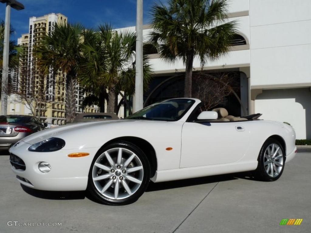 White Onyx Jaguar XK