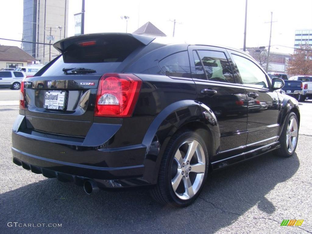 Brilliant Black Crystal Pearl 2008 Dodge Caliber Srt4