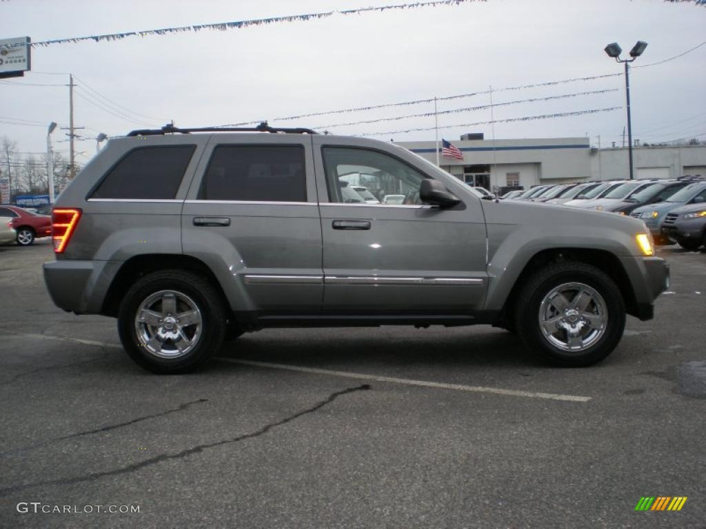 2007 mineral gray metallic jeep grand cherokee limited 4x4 44804023 photo 4. Black Bedroom Furniture Sets. Home Design Ideas