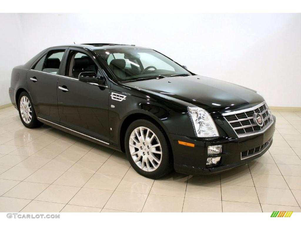 black raven 2008 cadillac sts v8 exterior photo 44830164. Black Bedroom Furniture Sets. Home Design Ideas