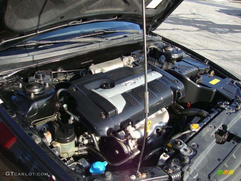 2005 Hyundai Elantra Gt Hatchback 2 0 Liter Dohc 16 Valve 4 Cylinder Engine Photo 44831884