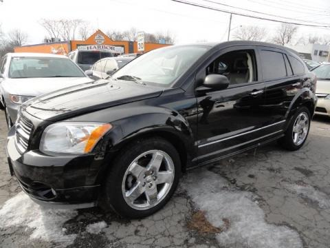 Black Dodge Caliber 2007. Dodge Caliber in 2007