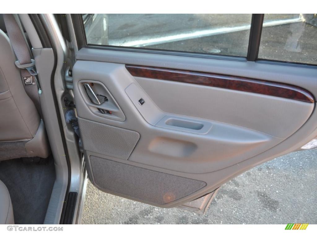 2004 Jeep Grand Cherokee Limited 4x4 Dark Slate Gray Door Panel Photo 44839600
