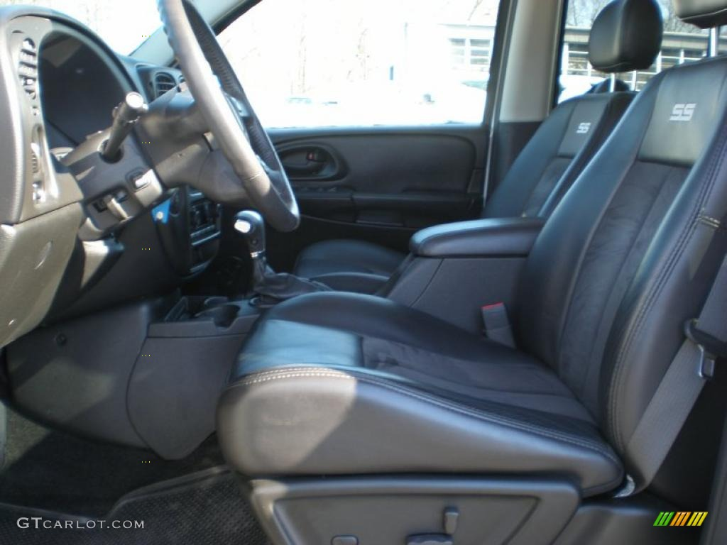 Chevrolet Trailblazer Interior Ebony Interior 2009 Chevrolet