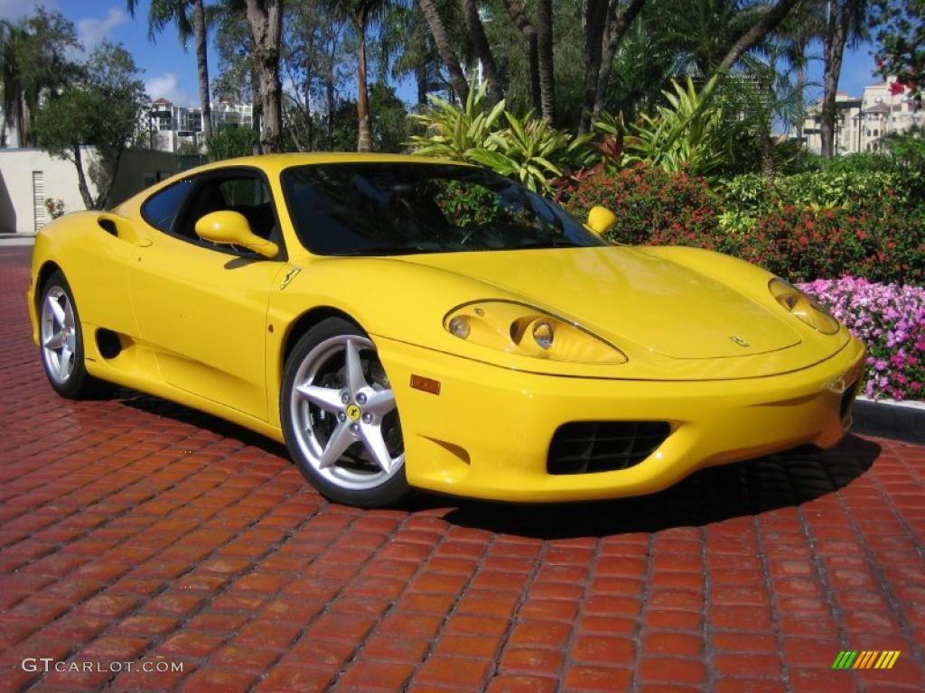 2002 Fly Yellow Ferrari 360 Modena 44805504 Gtcarlot Com Car Color Galleries