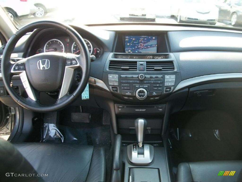 2009 Honda Accord Ex L V6 Sedan Black Dashboard Photo