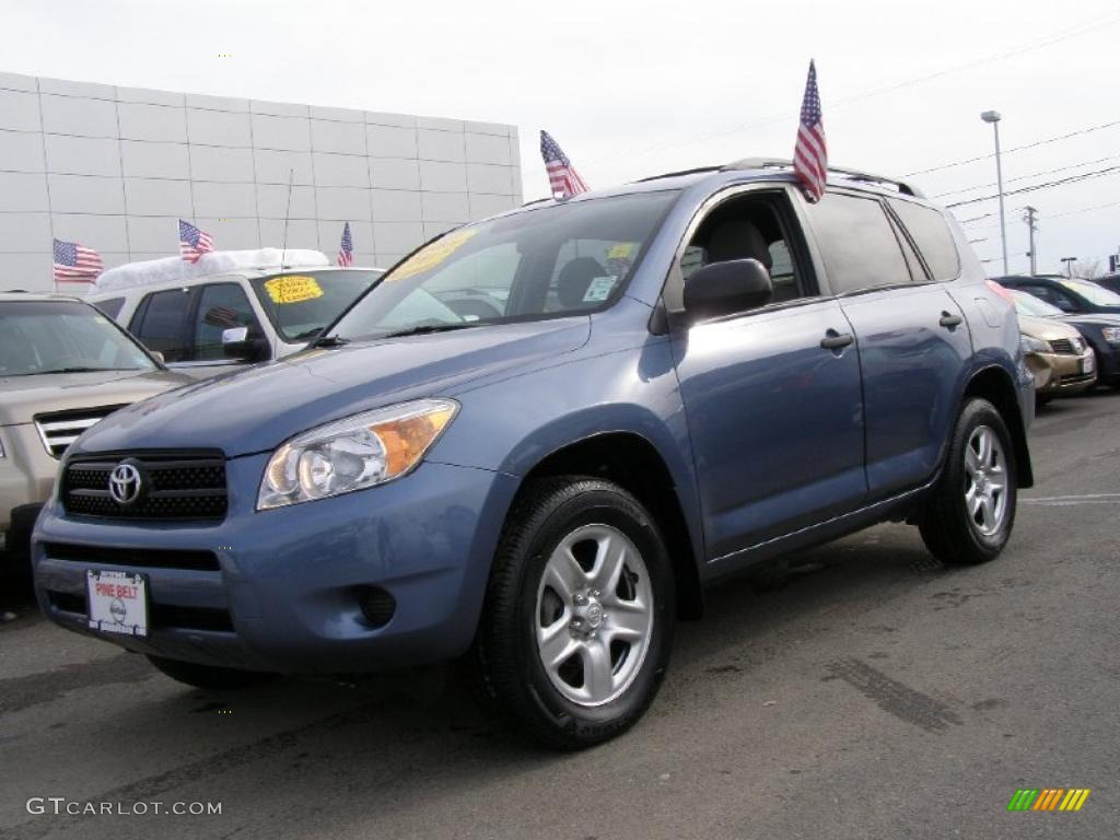 2007 pacific blue metallic toyota rav4 4wd 44806184 car color galleries. Black Bedroom Furniture Sets. Home Design Ideas