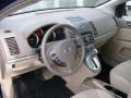 2010 Nissan Sentra Beige Interior Dashboard Photo