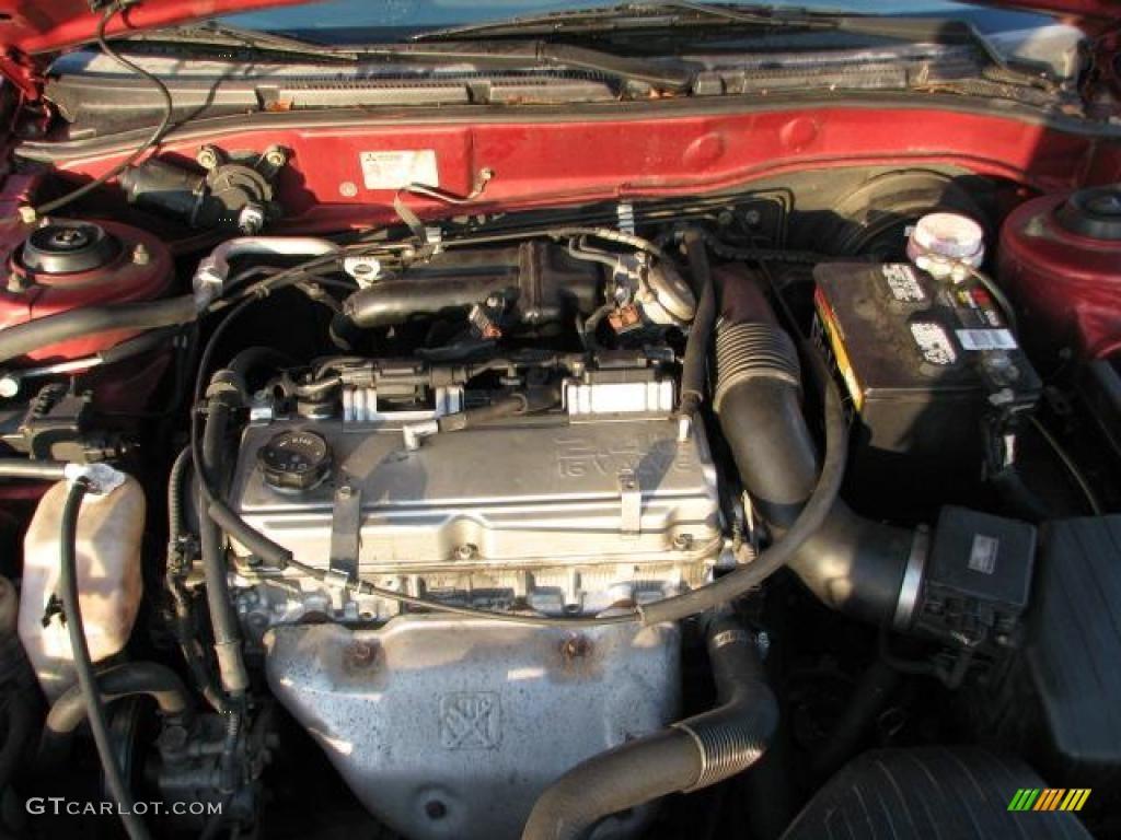 2002 mitsubishi galant engine diagram 2002 mitsubishi galant es 2.4 liter dohc 16-valve 4 ...