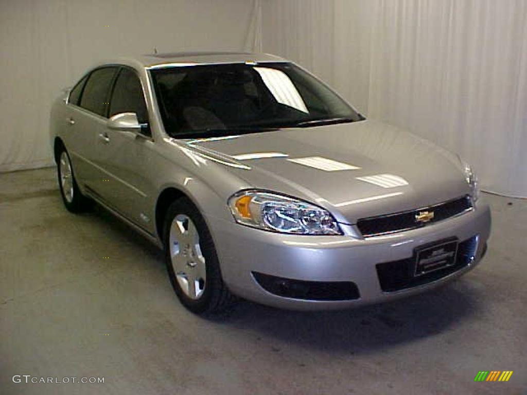 2006 silverstone metallic chevrolet impala ss 44805551 car color galleries. Black Bedroom Furniture Sets. Home Design Ideas