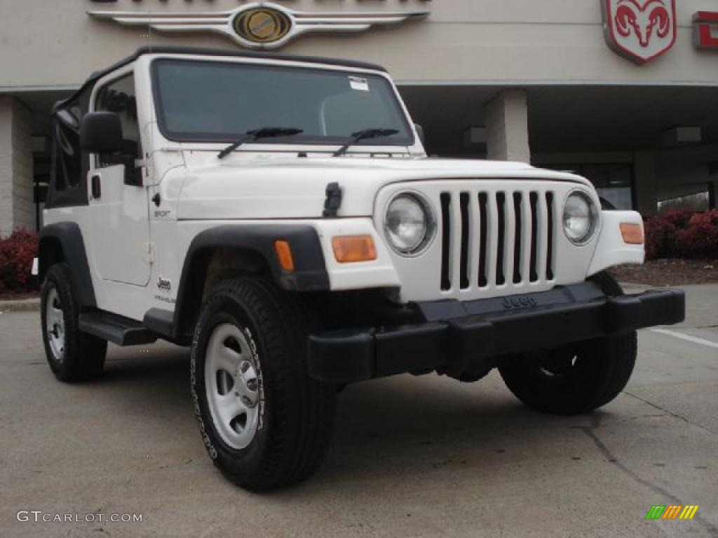 2006 stone white jeep wrangler sport 4x4 right hand drive