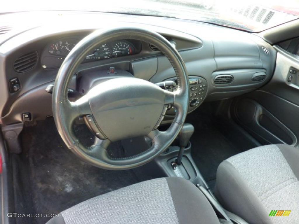 Dark gray interior 2002 ford escort zx2 coupe photo 44871092
