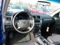 2011 Blue Flame Metallic Ford Fusion SE  photo #10