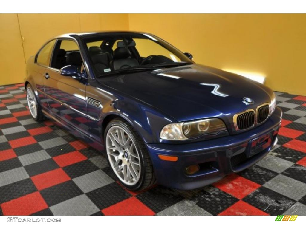 2004 mystic blue metallic bmw m3 coupe 44866684. Black Bedroom Furniture Sets. Home Design Ideas