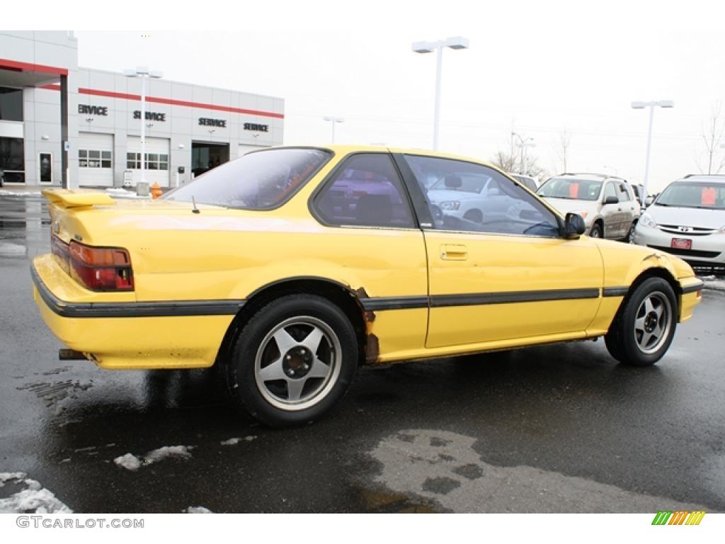 barbados yellow 1988 honda prelude si exterior photo 44879325 gtcarlot