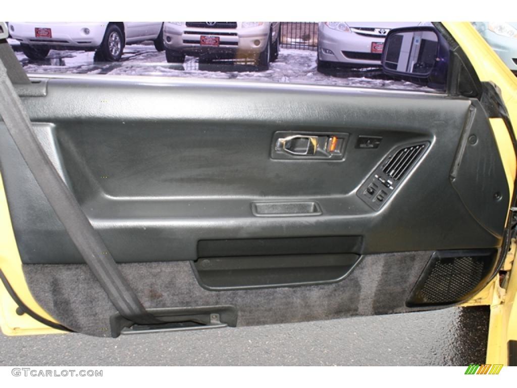 1988 Honda Prelude Si Black Door Panel Photo 44879537