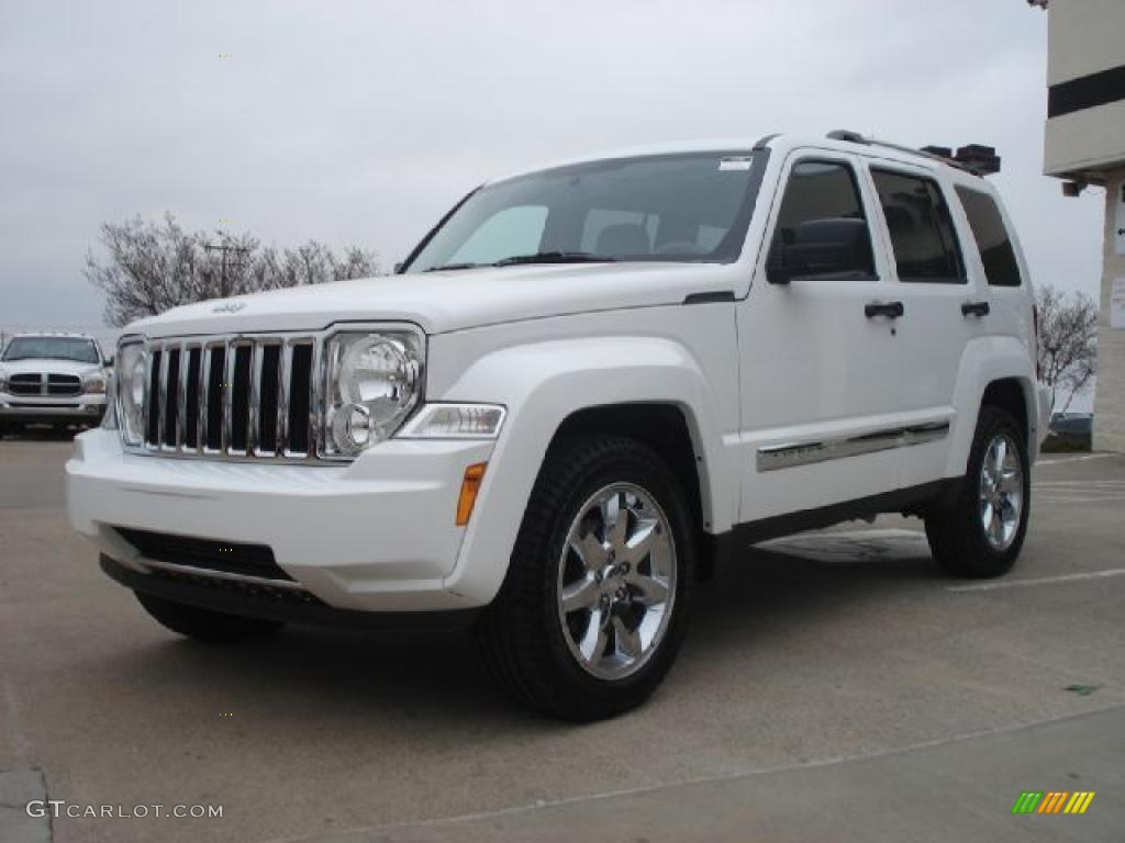 bright white 2011 jeep liberty limited exterior photo. Black Bedroom Furniture Sets. Home Design Ideas