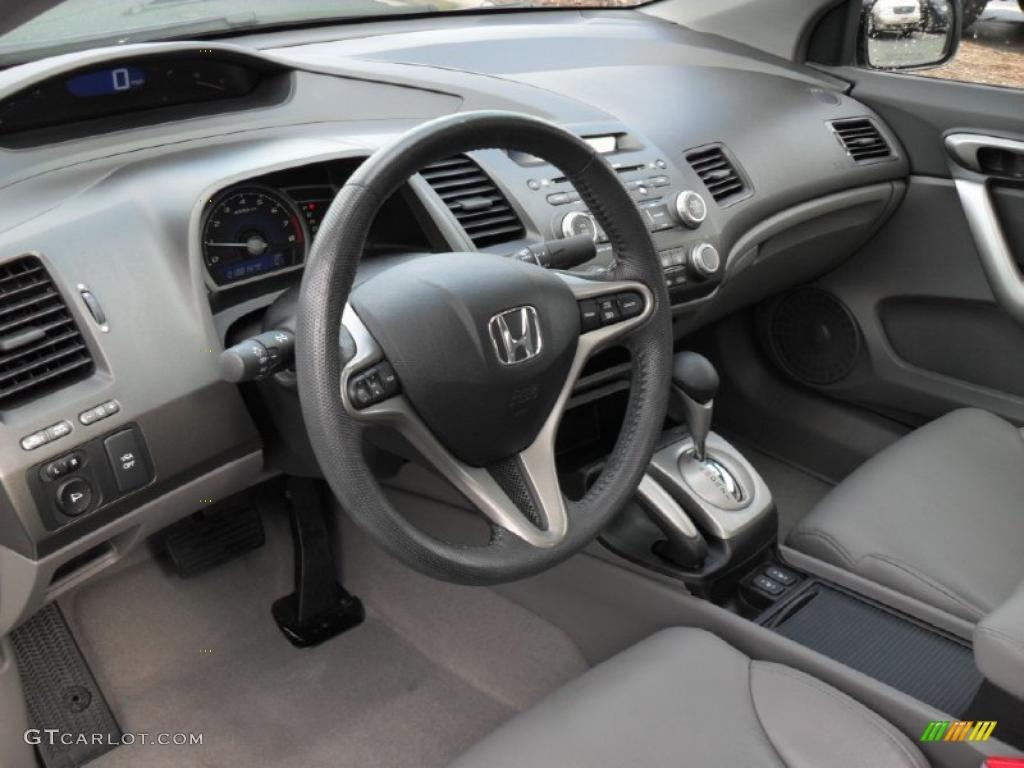 Gray Interior 2010 Honda Civic Ex L Coupe Photo 44881413