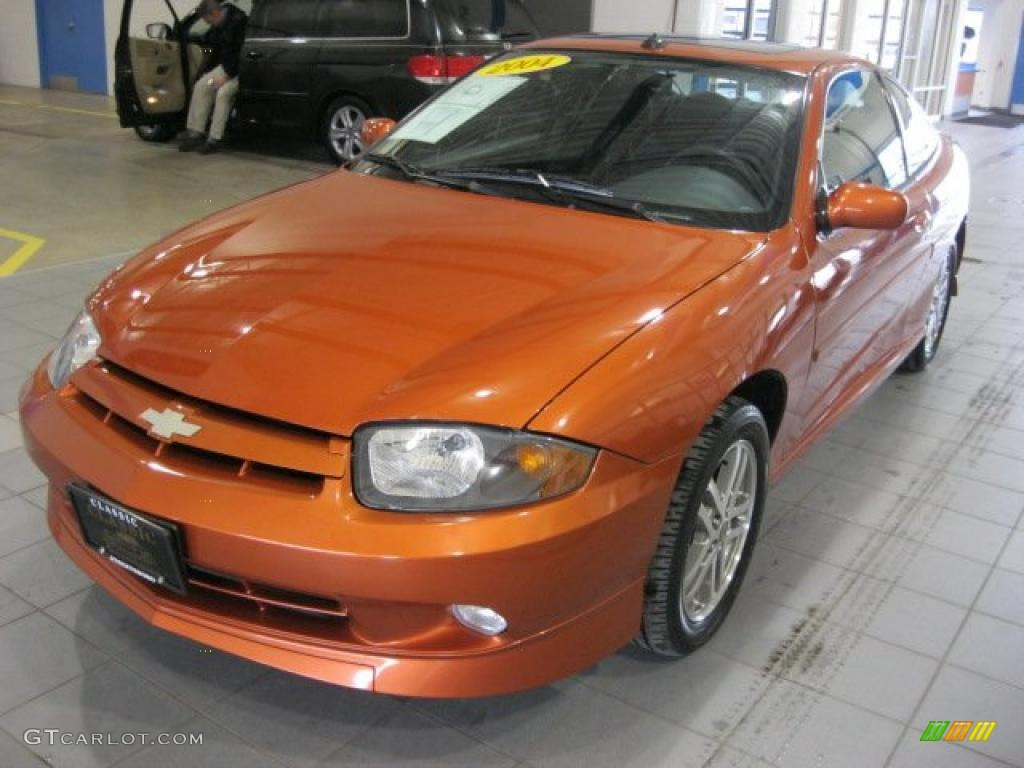 sunburst orange 2004 chevrolet cavalier ls sport coupe exterior photo 44883377. Black Bedroom Furniture Sets. Home Design Ideas