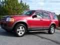 2003 Redfire Metallic Ford Explorer XLT  photo #2