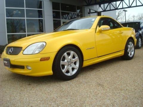 2001 Mercedes-Benz SLK
