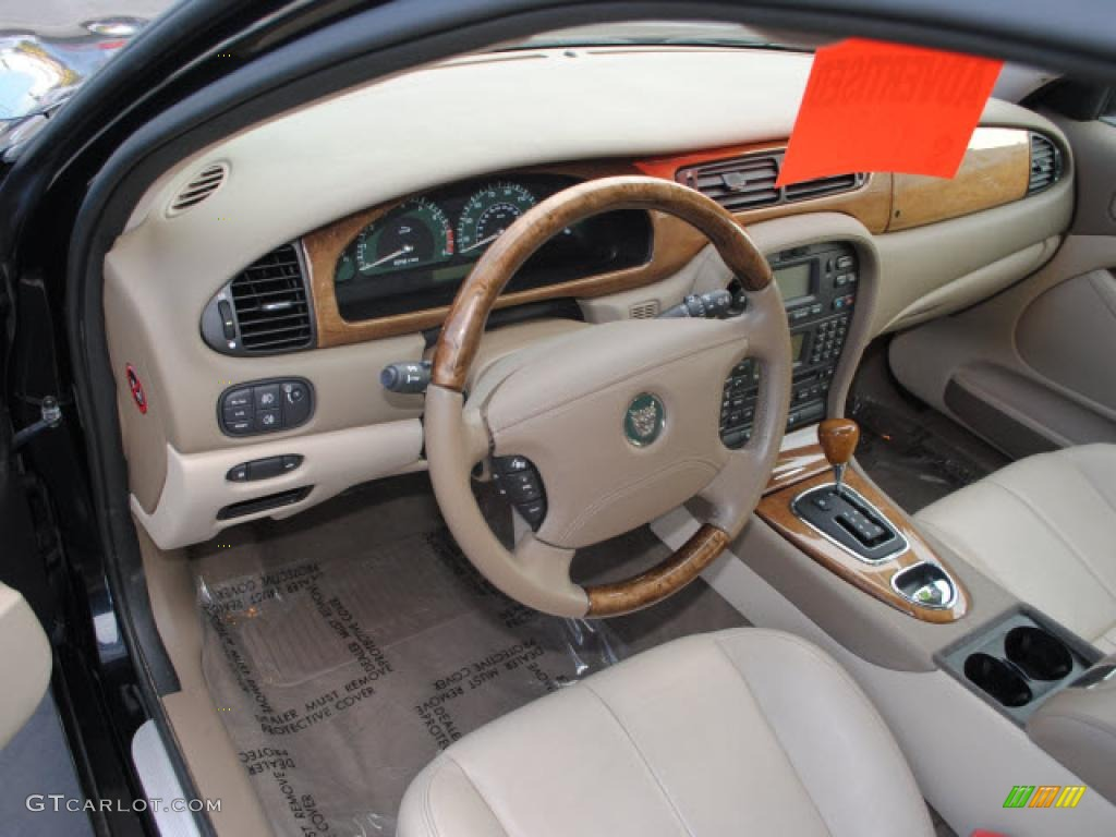 Sand Interior 2004 Jaguar S Type 3 0 Photo 44892745