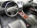 Black Prime Interior Photo for 2008 Lexus IS #44893837
