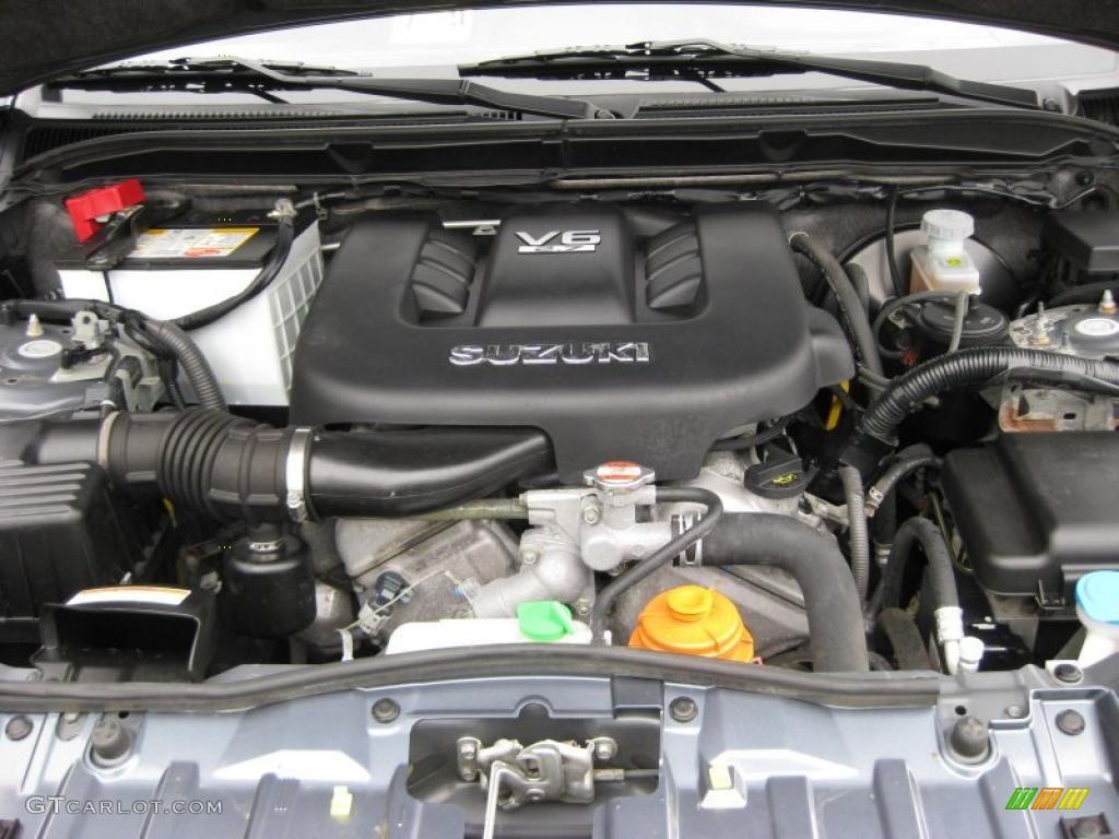 2006 Suzuki Grand Vitara XSport 2.7 Liter DOHC 24-Valve V6 ...
