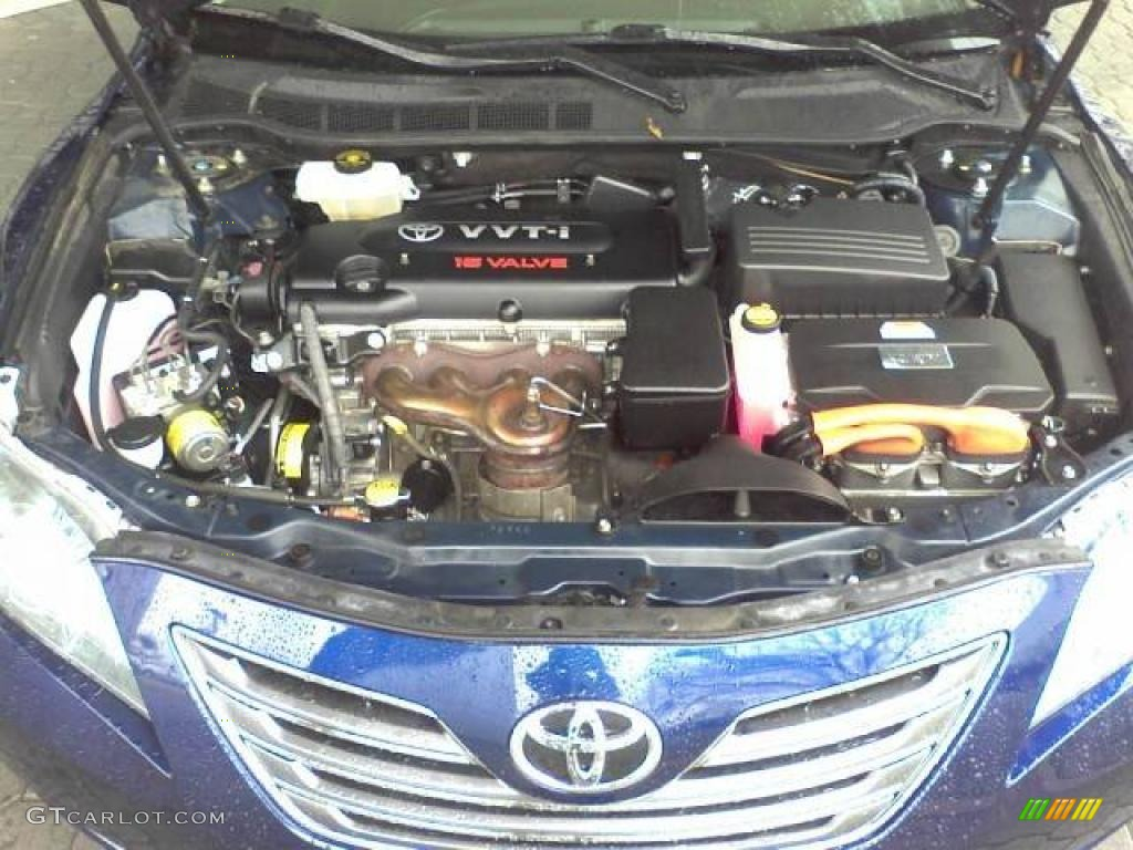 2007 Toyota Camry Hybrid 2 4 Liter Dohc 16v Vvt I Cylinder Gasoline Electric Engine Photo 44896639