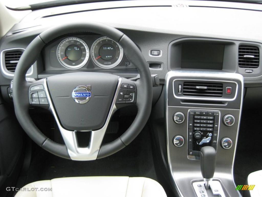 2012 Volvo S60 T5 Soft Beige/Off Black Dashboard Photo ...