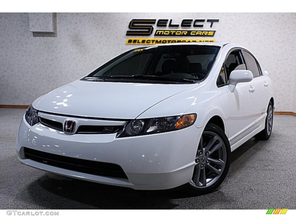 Taffeta White Honda Civic