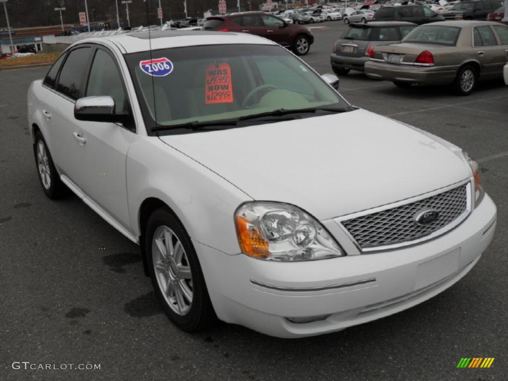 2005 Ford Five Hundred Transmissionford Quick Tips 15 Wiring Harness Oxford White 2006 Limited Exterior Photo
