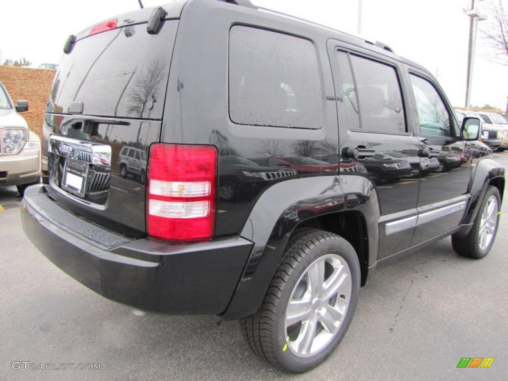 Brilliant black crystal pearl 2011 jeep liberty jet sport exterior photo 44912743 gtcarlot com