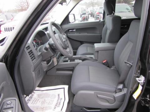 More 2011 Jeep Liberty Jet Sport Interior Photos