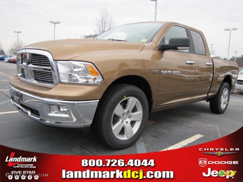 2011 saddle brown pearl dodge ram 1500 big horn quad cab 44901102 car color. Black Bedroom Furniture Sets. Home Design Ideas