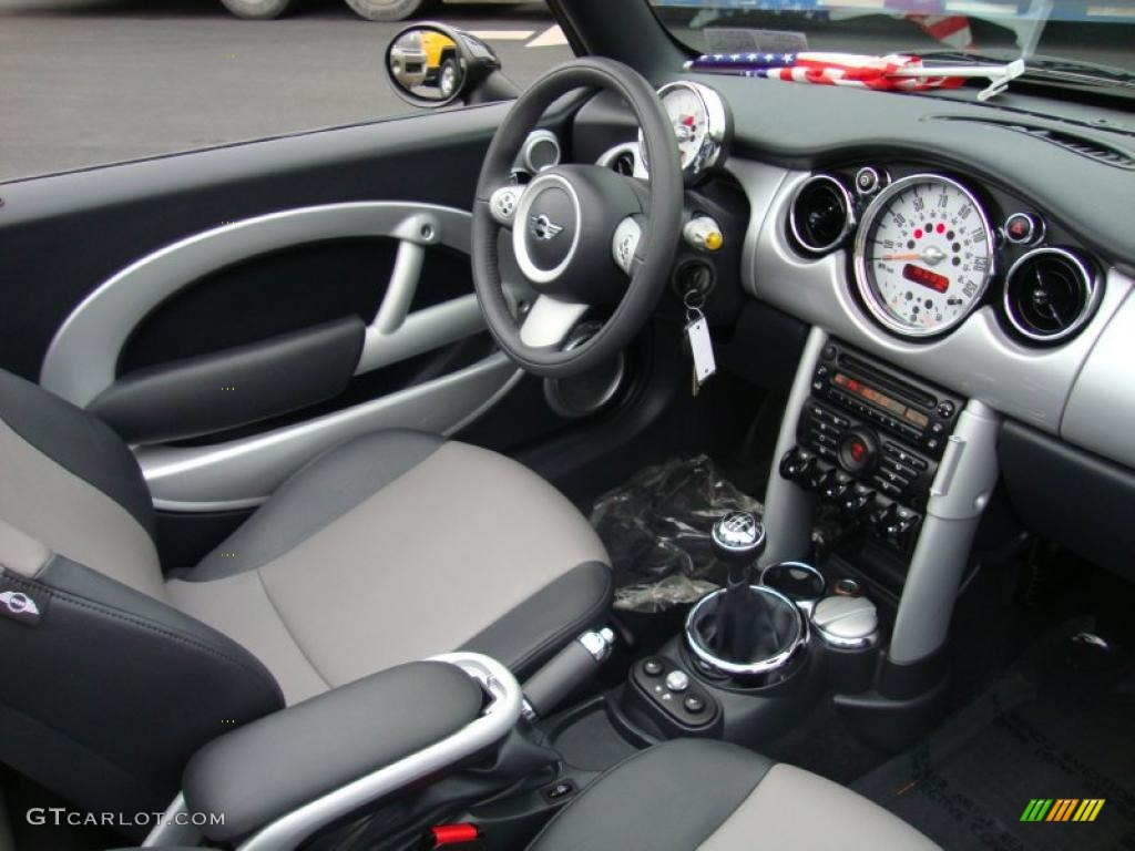 E Gray Panther Black Interior 2008 Mini Cooper Convertible Photo 44918624