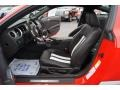 2011 Race Red Ford Mustang Shelby GT500 SVT Performance Package Coupe  photo #9