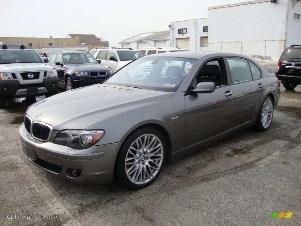 2006 Bmw 750i >> Sterling Grey Metallic 2007 BMW 7 Series 750Li Sedan Exterior Photo #44929185 | GTCarLot.com