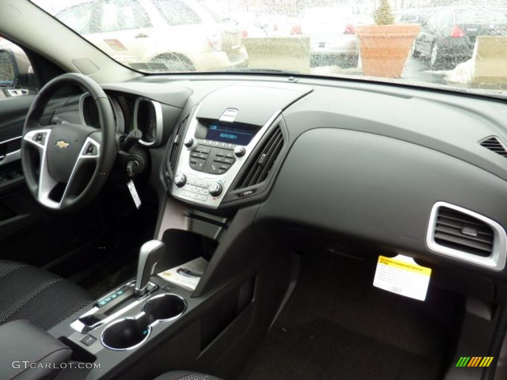 Jet Black Interior 2011 Chevrolet Equinox Lt Awd Photo