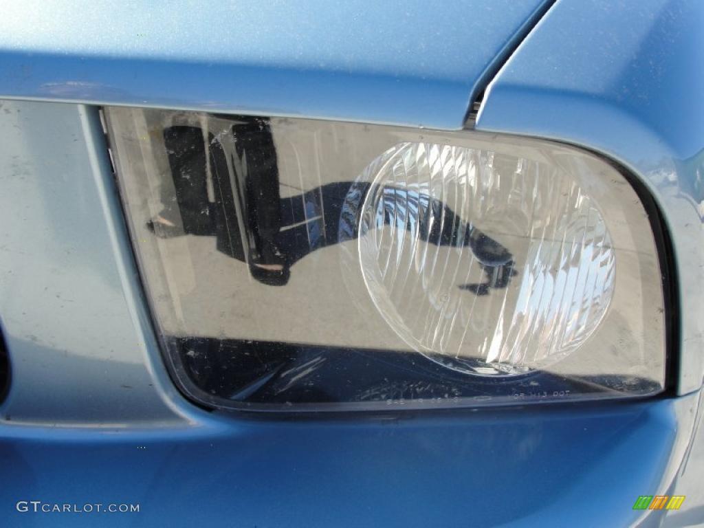 2006 Mustang GT Premium Coupe - Windveil Blue Metallic / Light Graphite photo #10